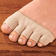 Open Toe Separator Socks Pair