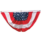 Patriotic American Flag Bunting, One Size