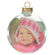 Glass Photo Ball Ornament