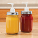 Mason Jar Condiment Dispensers