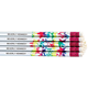 Round Holographic Star Pencils - Set Of 12