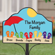 Personalized Magnetic Beach Yard Sign
