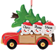 Personalized Woody Wagon Family Ornament, One Size