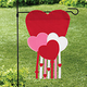 Heart Shaped Mini Banner