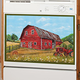 Barn Dishwasher Magnet
