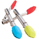 Silicone Tongs Set of 3, One Size