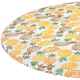 Pineapple Elasticized Vinyl Table Cover