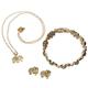 Good Luck Elephant Set of Bracelet, Earrings, Necklace