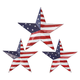 American Flag Barn Stars, Set of 3 by Fox River Creations™
