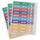 Medicine Bottle Labels -Set of 120