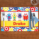 Personalized Robots Placemat