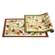 Floral Tapestry Rug, One Size