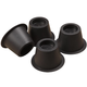 Bed Risers, Set of 4, One Size, Black
