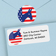 Donkey Political Label And Seal Value Set