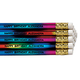 Personalized Rainbow Foil Pencils - Set of 12