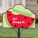 Personalized Magnetic Watermelon Sign