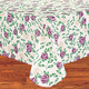 Purple Rose Vinyl Table Cover