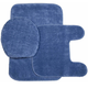 Plush Bath Rug Set, One Size