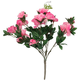 Artificial Azalea Potted Bush, One Size