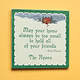 Personalized 8x8 Irish Proverb Wood Wall Plaque