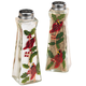 Cardinal Salt and Pepper Shakers, Clear