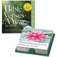 Bible Verses Desk Calendar, One Size, Multicolor