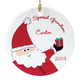 Personalized Special Grandson Ornament