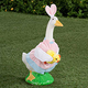 Easter Bunny In Training Goose/Flamingo Outfit