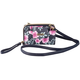 Buxton RFID Hibiscus Cellphone Crossbody Wallet, One Size
