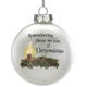 Empty Chair Glass Ball Ornament by Holiday Peak™
