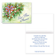Patriotic Greenery Christmas Card Set of 20