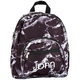 Personalized Mini Black Marble Backpack