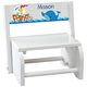 Personalized Children's White Ocean Friends Step Stool