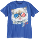 Patriotic Party Kitten T-Shirt