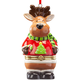 Reindeer in Sweater Trinket Box