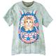Patriotic Kitten BackPack T-Shirt
