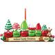 Personalized Gnome Family Ornament