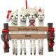 Personalized Llama Family Ornament