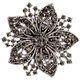 Magnetic Floral Brooch