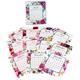Floral Watercolor 12 Month Desktop Calendar