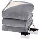Oakridge™ Micro Plush & Sherpa Heated Blanket by Biddeford