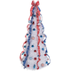 6' Patriotic Pull-Up Tree with LED Lights by Holiday Peak™