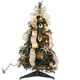 2' Silver & Gold Pull-Up Tree by Holiday Peak™