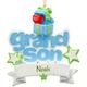 Personalized Grandson Ornament