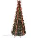 7' Plaid Pull-Up Tree by Holiday Peak™      XL