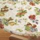Antique Fruit Elasticized Table Cover, 40