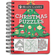 Brain® Games Christmas Puzzles Book