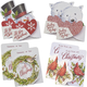 Christmas Die Cut Money Card Holders Set of 8