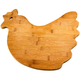 Bamboo Rooster Cutting Board by Home Marketplace