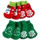 Christmas Dog Socks Set of 2
